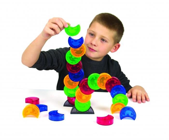 Joc constructie magnetic Arx 2.0 - Fat Brain Toys 1
