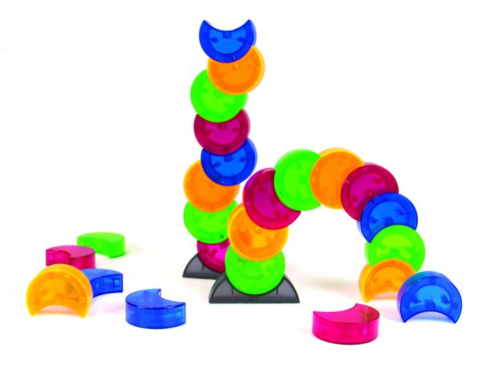 Joc constructie magnetic Arx 2.0 - Fat Brain Toys 2
