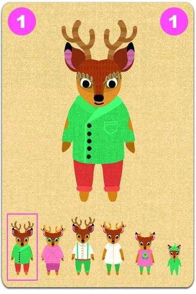 Joc de carti Djeco Familou 3