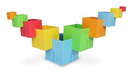 Joc de constructie Cuburi DADO Original - Fat Brain Toys 9