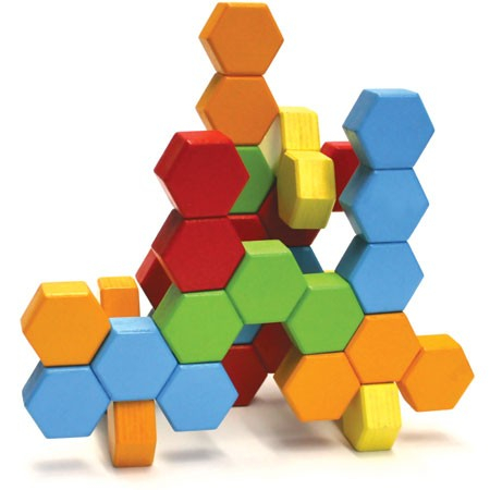 Joc de constructie IQ HexActly - Fat Brain Toys 8