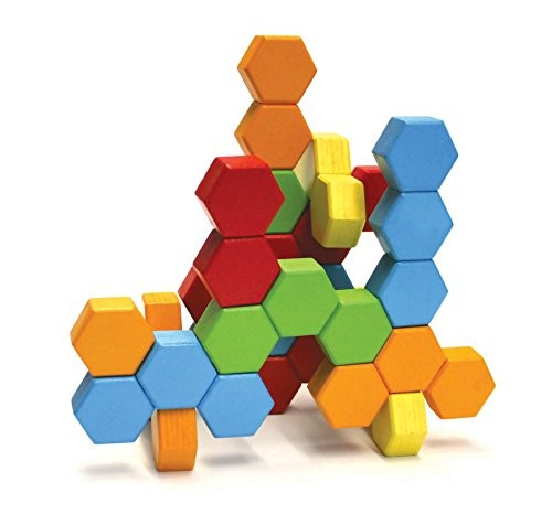 Joc de constructie IQ HexActly - Fat Brain Toys 15