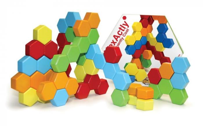 Joc de constructie IQ HexActly - Fat Brain Toys 7