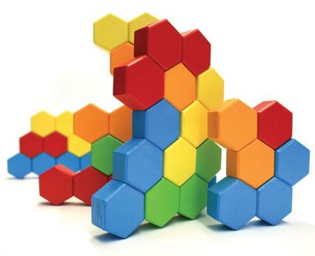 Joc de constructie IQ HexActly - Fat Brain Toys 1