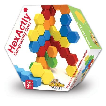 Joc de constructie IQ HexActly - Fat Brain Toys 0