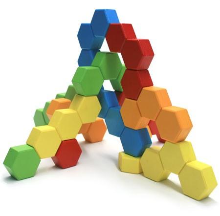 Joc de constructie IQ HexActly - Fat Brain Toys 2