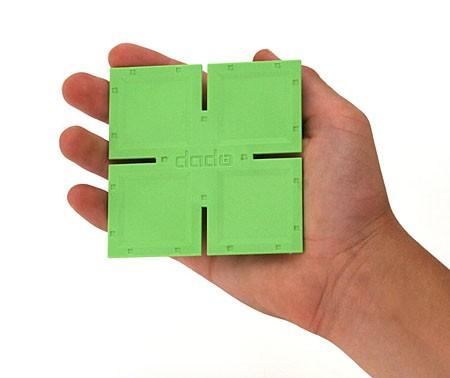 Joc de constructie Patrate DADO Original - Fat Brain Toys 8