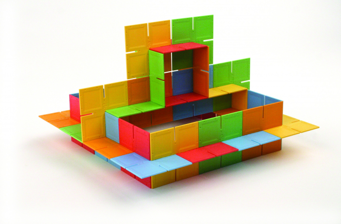 Joc de constructie Patrate DADO Original - Fat Brain Toys 17