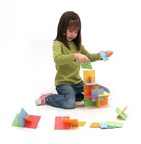 Joc de constructie Patrate DADO Original - Fat Brain Toys 15