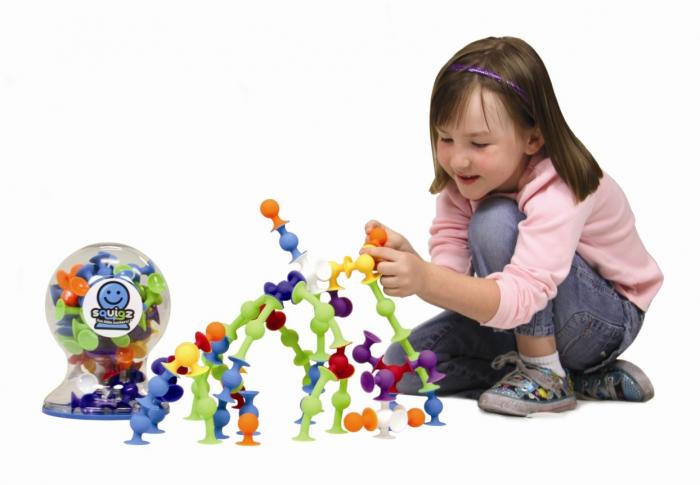 Joc de constructie Squigz Deluxe Set - Fat Brain Toys 4