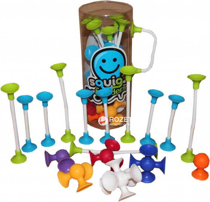 Joc de constructie Squigz Flexi Set - Fat Brain Toys 16