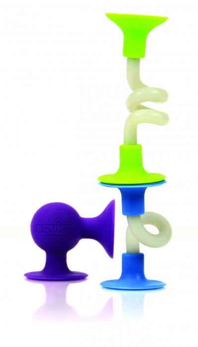 Joc de constructie Squigz Flexi Set - Fat Brain Toys 5