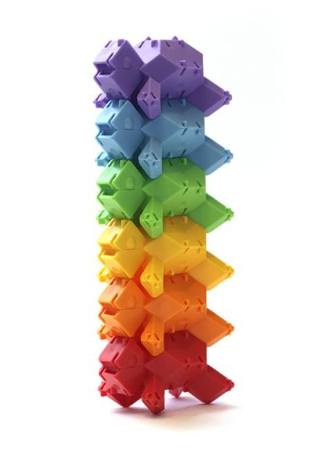 Joc de constructie Testoasele - Fat Brain Toys 2