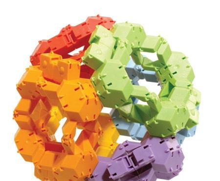 Joc de constructie Testoasele - Fat Brain Toys 6