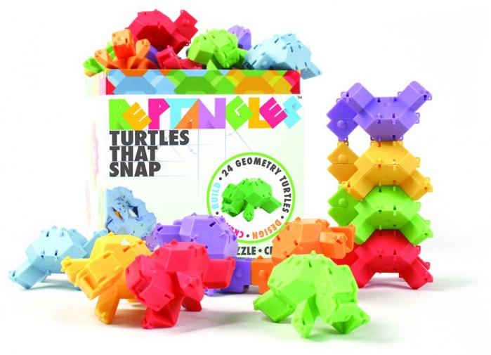 Joc de constructie Testoasele - Fat Brain Toys 0