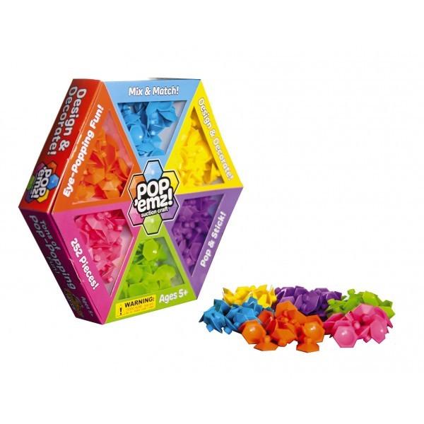 Joc de creatie cu ventuze Pop Emz Fat Brain Toys 9