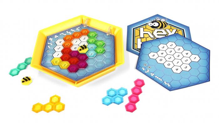 Joc de logica Stupul Albinelor - Fat Brain Toys 2