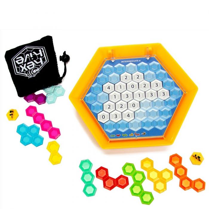 Joc de logica Stupul Albinelor - Fat Brain Toys 6