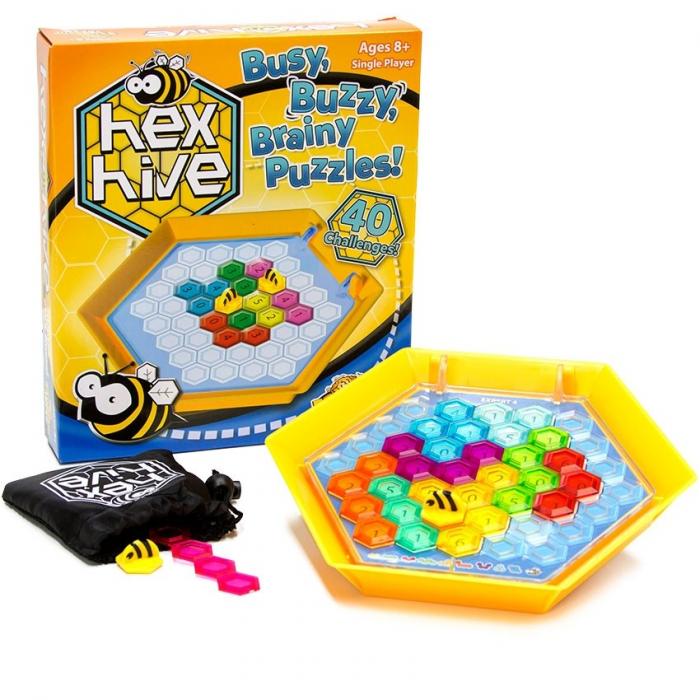 Joc de logica Stupul Albinelor - Fat Brain Toys 0