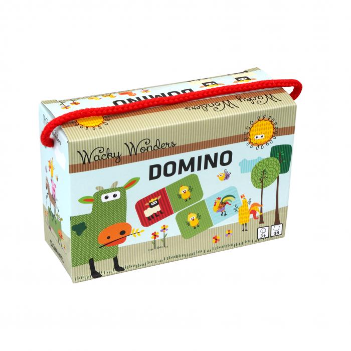 Joc DOMINO in cutie - Wacky Wonders [0]