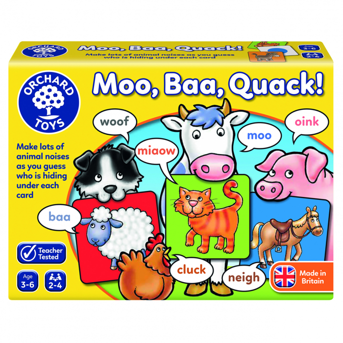 Joc educativ Moo Bee Mac MOO BAA QUACK 0