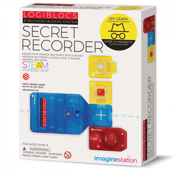 Joc electronic Logiblocs - set Secret Recorder [0]