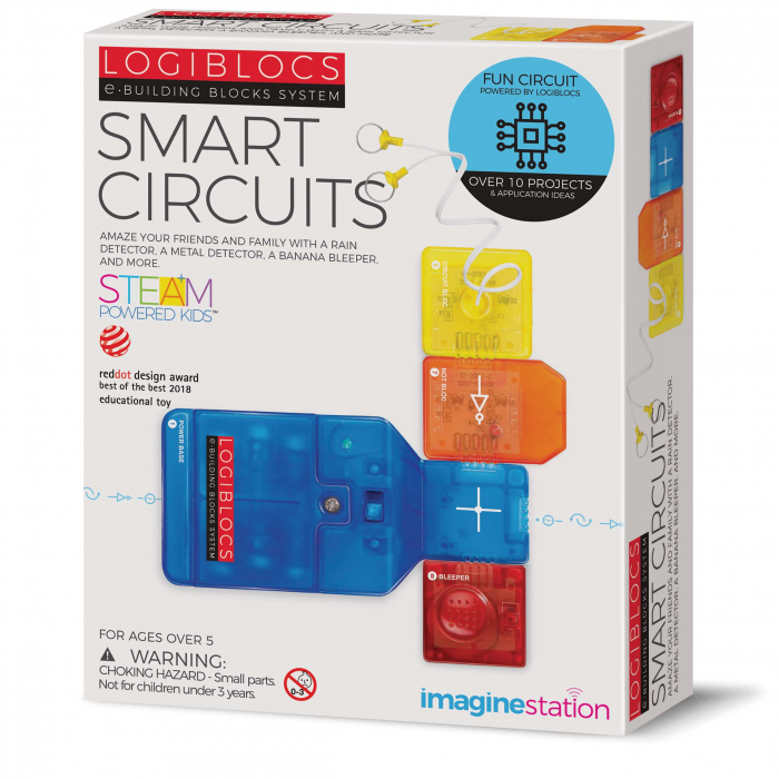 Joc electronic Logiblocs - set Smart Circuit [0]