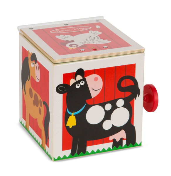 Jucarie cu surpriza Jack in the Box Melissa and Doug 0
