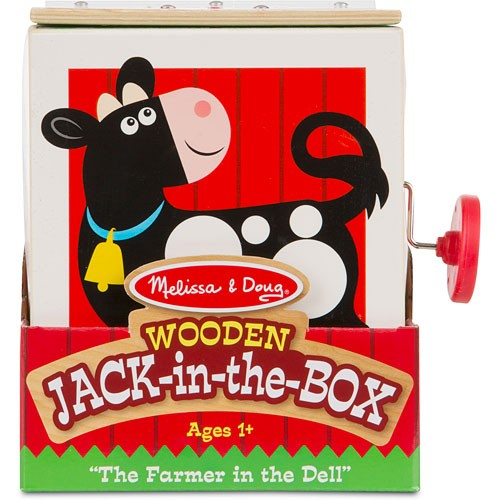 Jucarie cu surpriza Jack in the Box Melissa and Doug 4