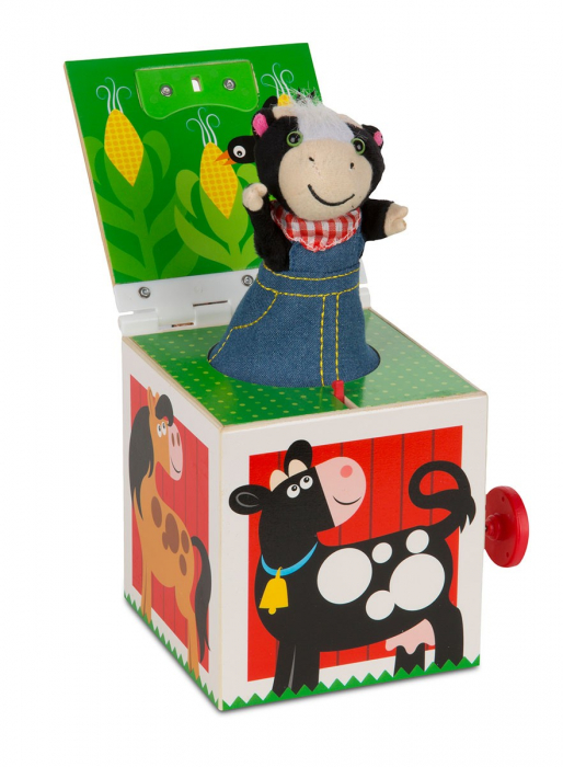 Jucarie cu surpriza Jack in the Box Melissa and Doug 2
