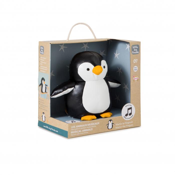 Jucarie muzicala Pinguinul Martin 12