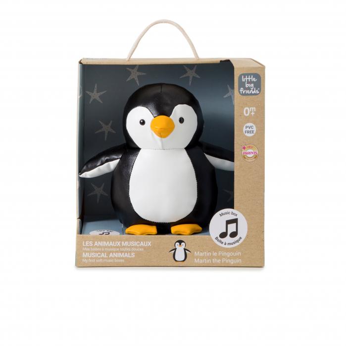 Jucarie muzicala Pinguinul Martin 5