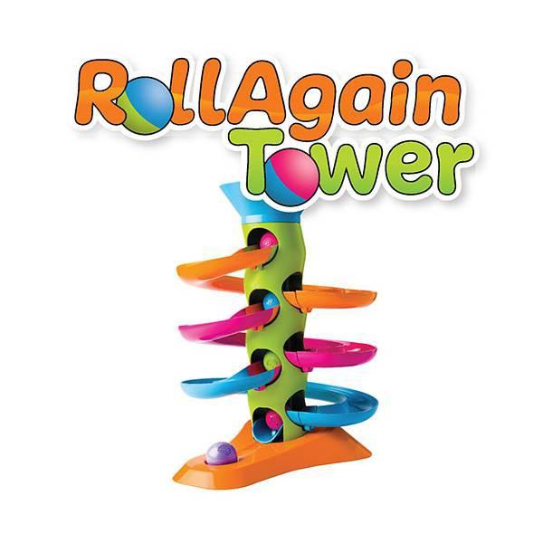 Jucarie Turnulet cu bile RollAgain 4