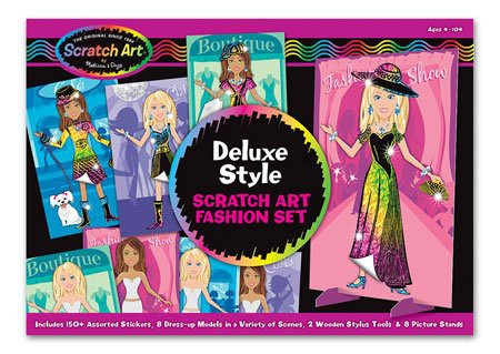 Kit desen prin razuire Designer de moda Melissa and Doug 6