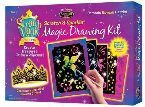 Kit desen prin razuire - Printesa magica 1