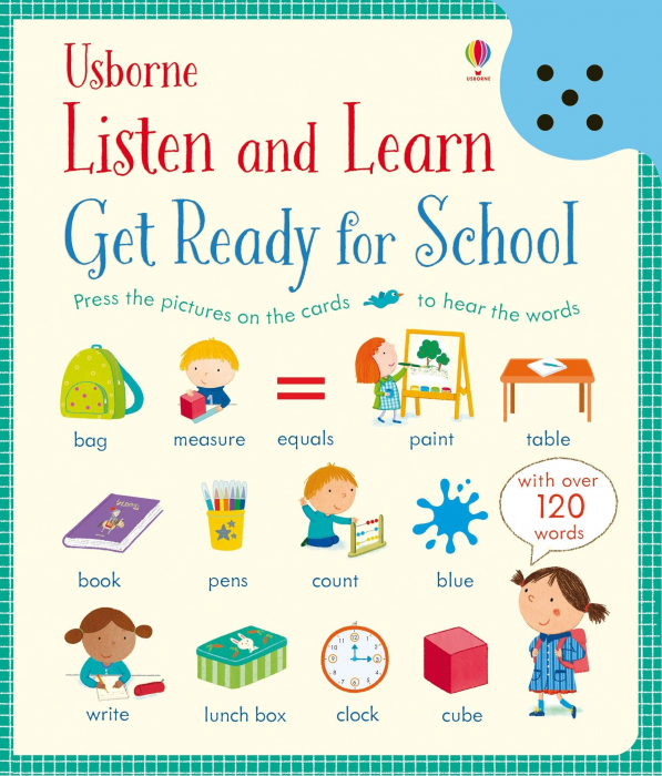 Listen And Learn Get Ready For School [0]