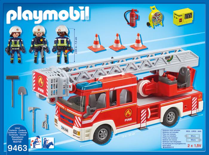 Masina De Pompieri Cu Scara 1