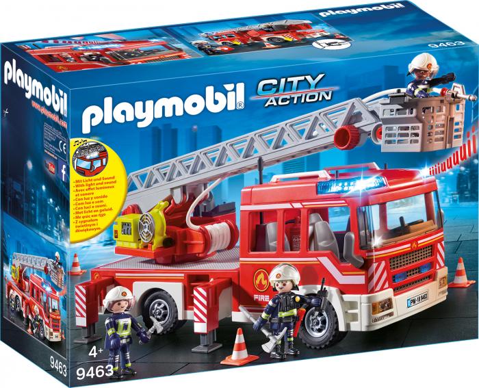 Masina De Pompieri Cu Scara 0