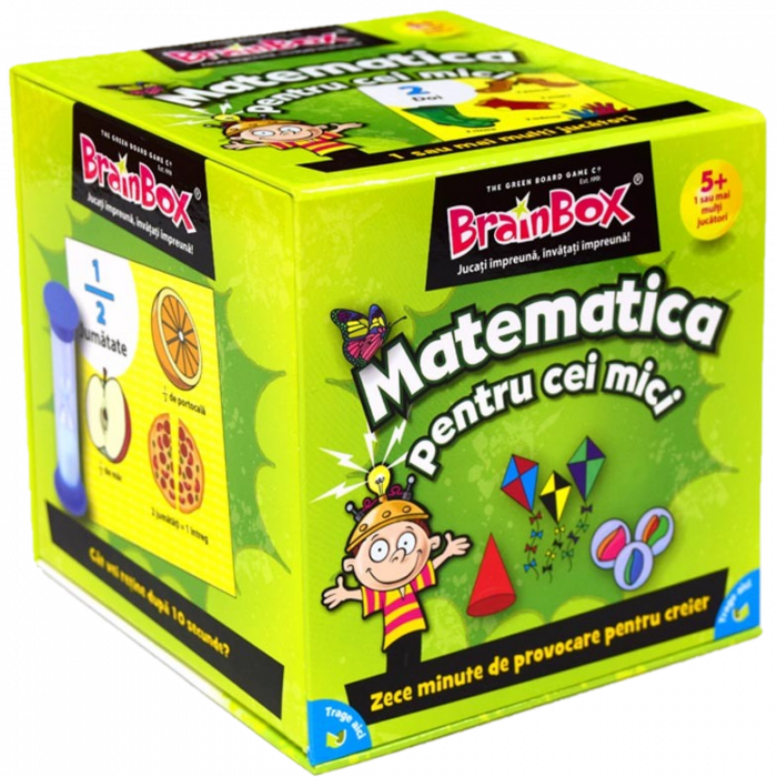 Matematica pentru cei mici - BrainBox 1