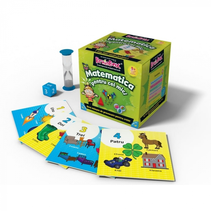 Matematica pentru cei mici - BrainBox 0