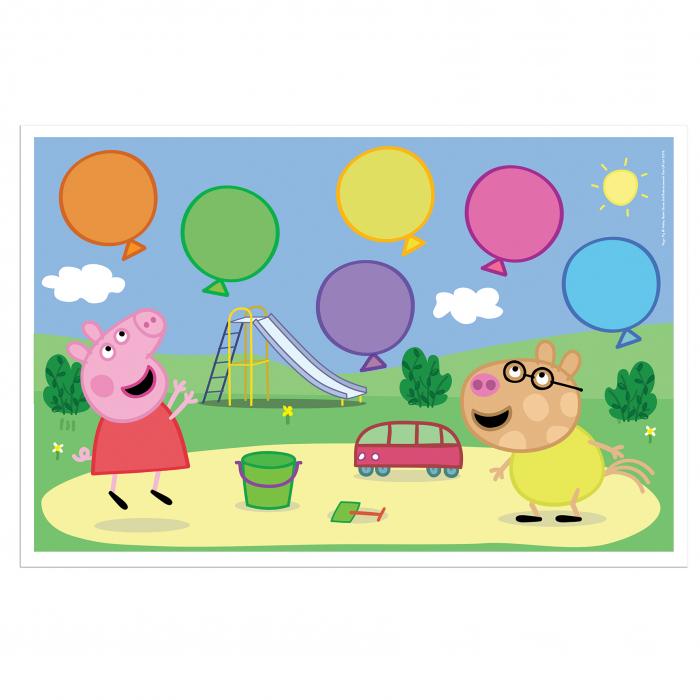 Joc cu baloane Peppa Pig 4