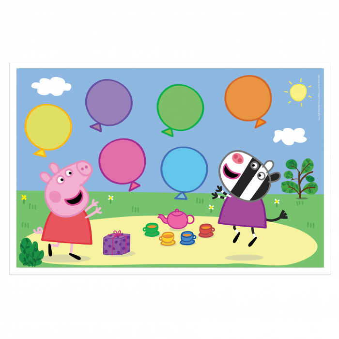 Joc cu baloane Peppa Pig 3