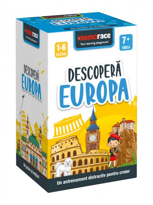 Pachet educativ: BrainBox - Descoperă Romania & MemoRace - Descoperă Europa 1