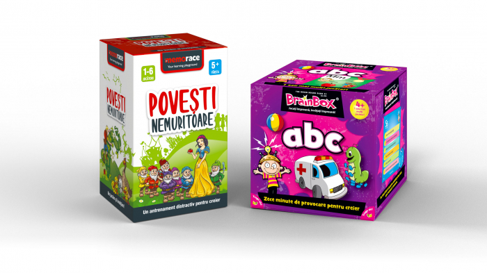 Pachet educativ: BrainBox - ABC & Memorace Povești nemuritoare [0]