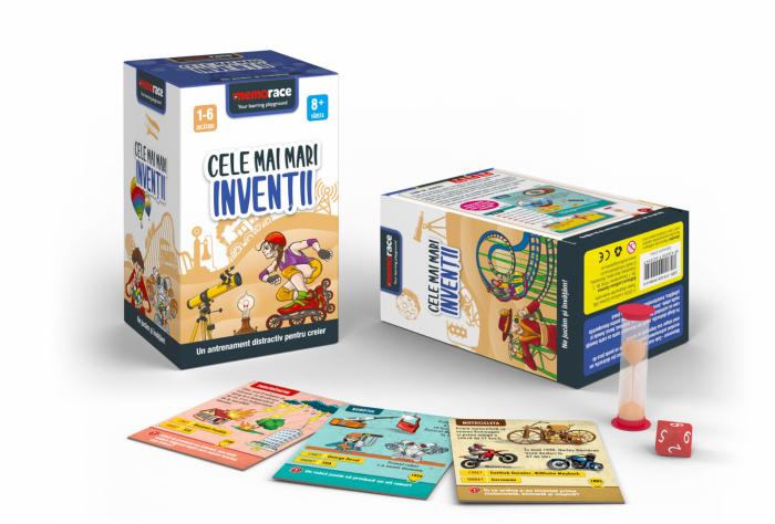 Pachet educativ: BrainBox - Să învățăm Engleză & MemoRace - Cele mai mari invenții 1