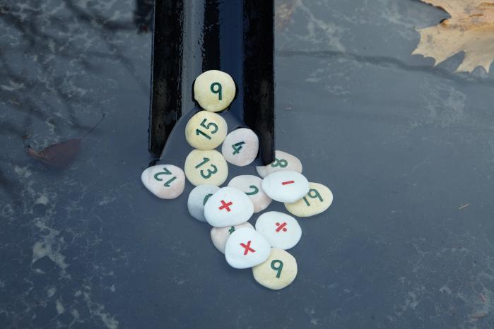Pietricele cu numere - Set Matematica [3]