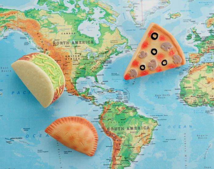 Pietre senzoriale - Mancaruri din lumea intreaga 4