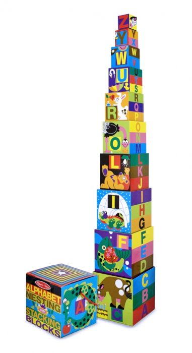 Piramida Alfabet Melissa and Doug 1