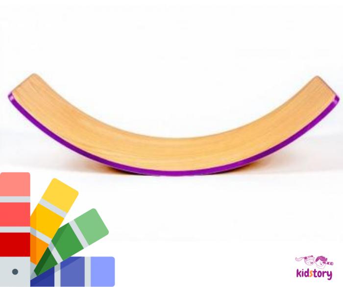 Placa echilibru cu margini colorate, Balance Board 0