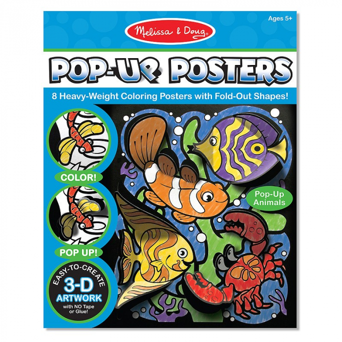 Postere 3D Animale Melissa and Doug 1